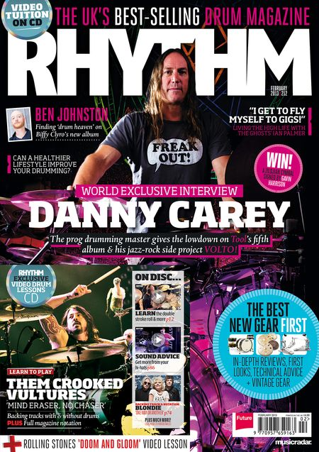 cover of rhythm magazine